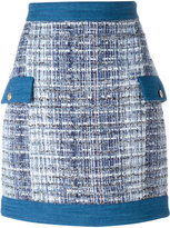 Pierre Balmain tweed skirt - women - Cotton/Acrylic/Polyamide/Viscose - 34