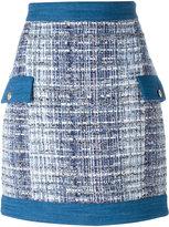 Pierre Balmain tweed skirt - women - Cotton/Acrylic/Polyamide/Viscose - 40
