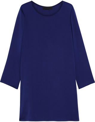 The Row Kahlid Silk-charmeuse Mini Dress