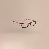 Burberry Metallic Detail Cat-eye Optical Frames