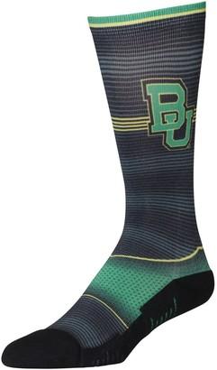 E.m. Unbranded Men's Rock Socks Baylor Bears Hyper Stripe Socks