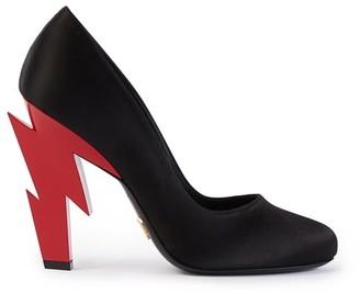 Prada Lightning Bolt heels