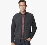 Johnston & Murphy Contrast Zip Cardigan