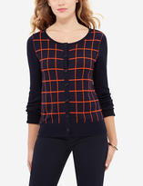 The Limited Grid Pattern Cardigan