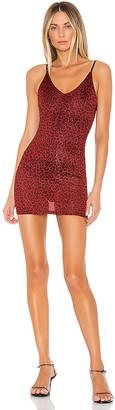 superdown Stassie Sheer Mini Dress