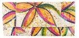 Carlos Falchi Snakeskin Floral Clutch