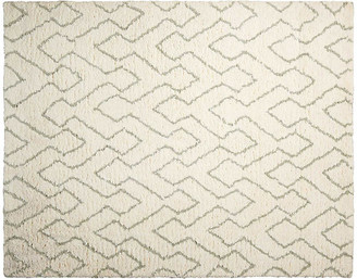 One Kings Lane Navarro Kids' Rug - Ivory/Sage - 5'x7'