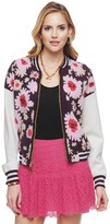 Juicy Couture Exploded Floral Jacquard Jacket