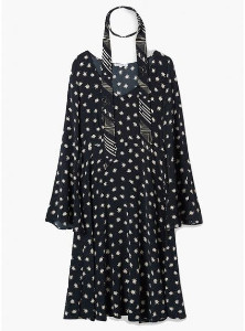 Lily & Lionel Cosmos Harley Dress - xsmall - Black