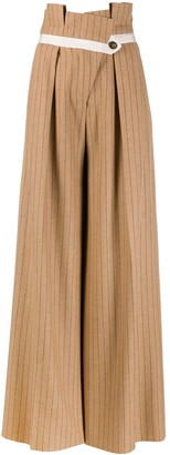Golden Goose striped palazzo trousers