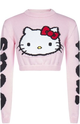 GCDS Hello Kitty Cropped Jumper