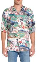 Reyn Spooner Men's Boston Red Sox Print Camp Shirt