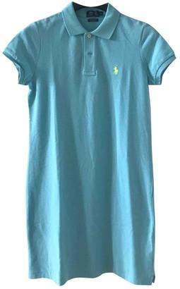Polo Ralph Lauren Turquoise Cotton Dress for Women