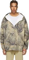 Yeezy Khaki Camo Pullover Jacket