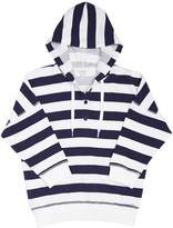 Nautica Terry Striped Hooded Top