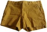 Hermes Camel Cotton Shorts