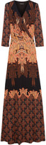 Etro Paisley-print silk-jersey maxi dress