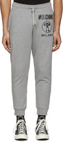 Moschino Grey Logo Lounge Pants