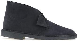 Clarks Suede-Effect Desert Boots