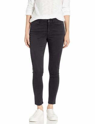 Daily Ritual Sateen Mid-Rise Skinny Ankle Pant Casual