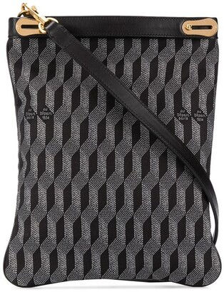 Au Départ Geometric Pattern Tote Bag