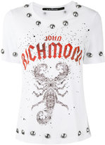 John Richmond studded T-shirt - women - Cotton - S