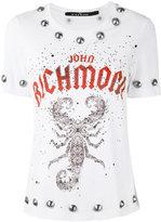 John Richmond studded T-shirt - women - Cotton - XS
