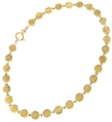 Jennifer Meyer Mini Disc Bracelet - Yellow Gold