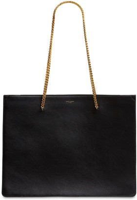 Saint Laurent Shopping Chic Leather Tote Bag