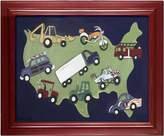 Doodlefish Framed 24 x20 Wall Art, Wheels USA