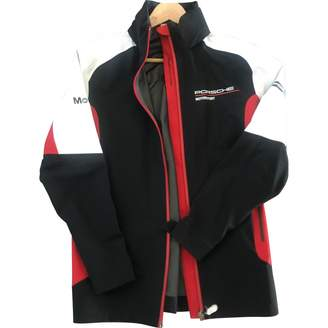 Porsche Design Blue Cotton Jacket for Women