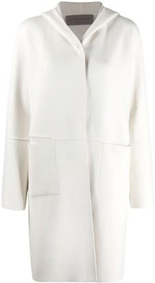 D-Exterior Cashmere-Blend Cardi-Coat