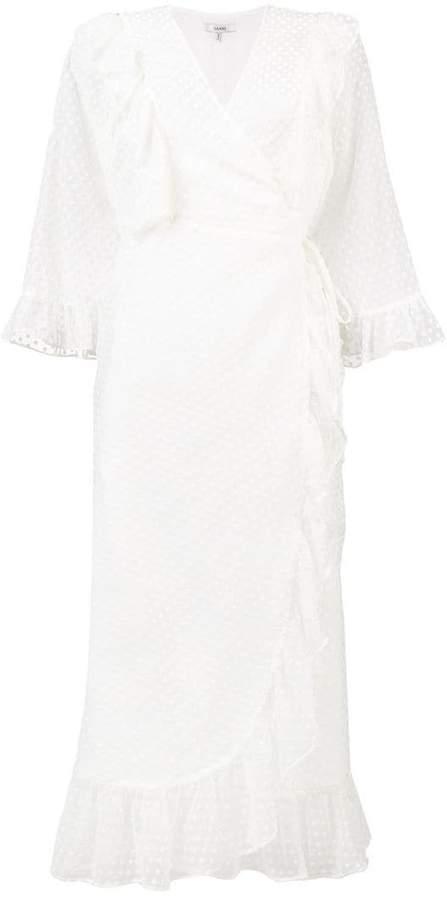 Ganni Jasmine wrap dress