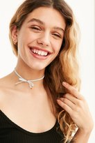 Urban Outfitters Velvet Bow Choker Necklace