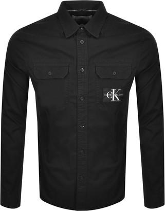 Calvin Klein Jeans Long Sleeved Shirt Black