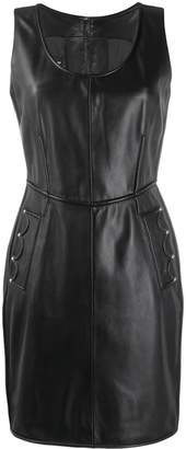 Moschino sleeveless fitted mini dress