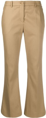 Pt01 Jaine cropped flared style trousers