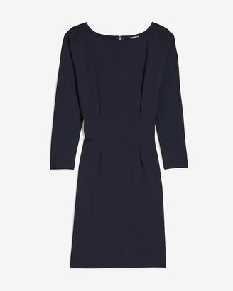 Express Dolman Sleeve Sheath Dress