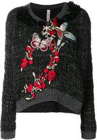 Antonio Marras embroidered nature jumper