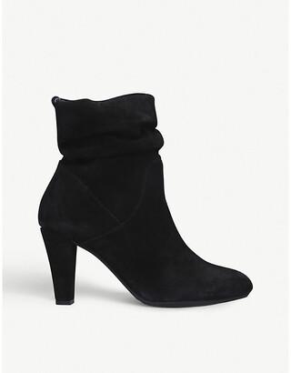 Carvela Comfort suede heeled boots