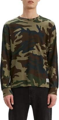 Levi's Mighty Made Long Sleeve Crewneck T-Shirt