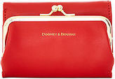 Dooney & Bourke Lambskin Framed Billfold Wallet