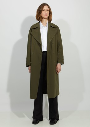 Harris Wharf Oversized Light Trench Coat