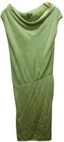 Escada Green Silk Dress for Women Vintage