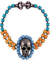 Tom Binns Skull Charm Bracelet
