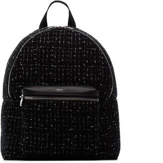 Amiri Boucle-Checks Backpack