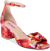 Betsey Johnson Ivee Block-Heel Sandals