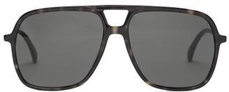 Gucci Aviator Acetate Sunglasses - Tortoiseshell