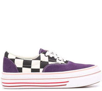 Vans Chunky Check Lace-Up Trainers