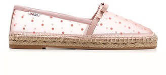 RED Valentino Polka-Dot Tulle Espadrilles